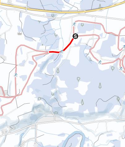 Karte / Loipenanschluss G 2 Erweiterung 1 - U 3 Erweiterung 3
