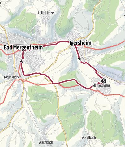 Von Markelsheim Nach Bad Mergentheim Und Zur 252 Ck