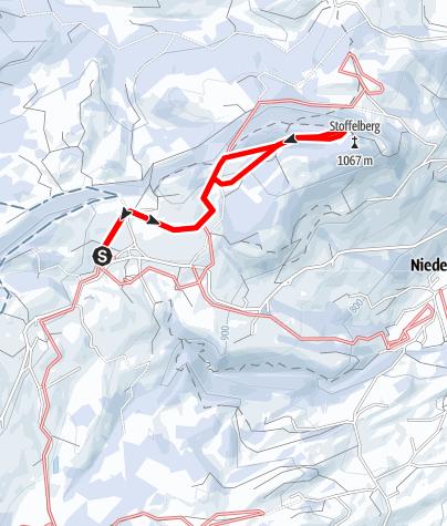 Karte / Stoffelbergloipe (kleine Runde) (W 1)