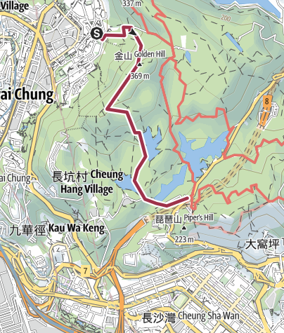Map / 金山route