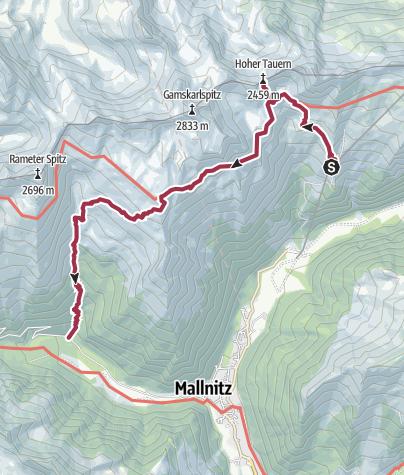 Map / Korntauern- Runde