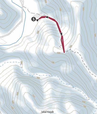 Map / Wadi White House Ridge