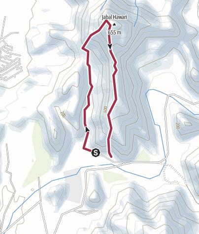 Map / Wadi Kneecrack