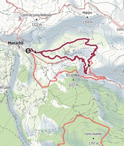 Mapa / Cahorros Altos 3 feb. 2018