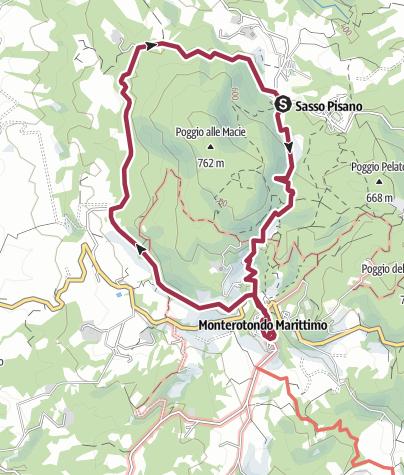 Map / Escursione zona geotermica