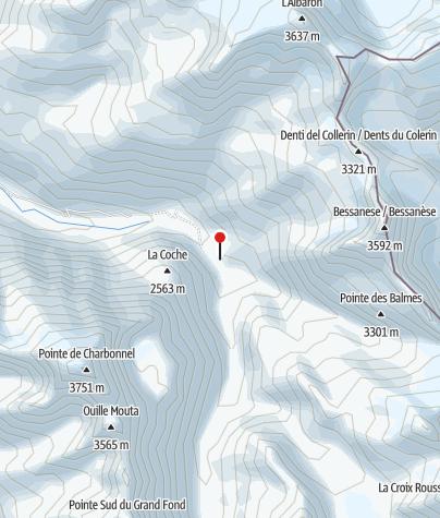 Karte / REFUGE CAF D'AVEROLE