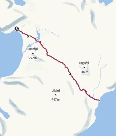 Mappa / da latrar a hesteyri