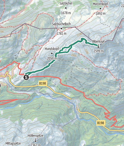 Map / Biberkopf