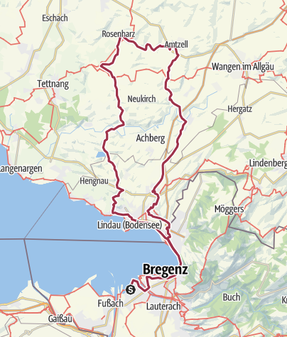Karte / Lindau-Bodnegg-Amtzell