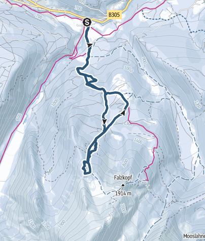 Karte / Watzmann Gugl
