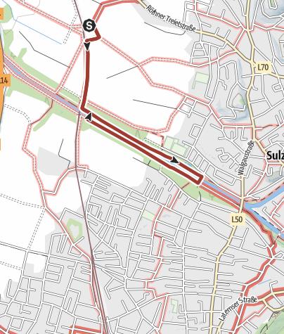 Karte / Barrierefrei: In der Frutzau – zwischen Sulz und Rankweil