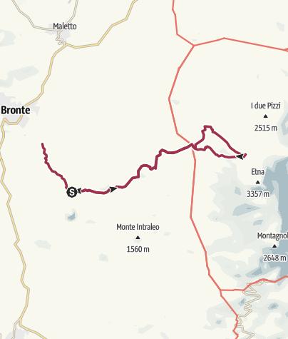 Map / Punta Lucia da Piano dei Grilli