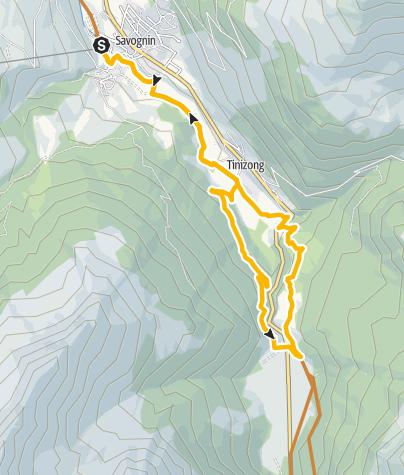 Karte / 661 Römer-Trail
