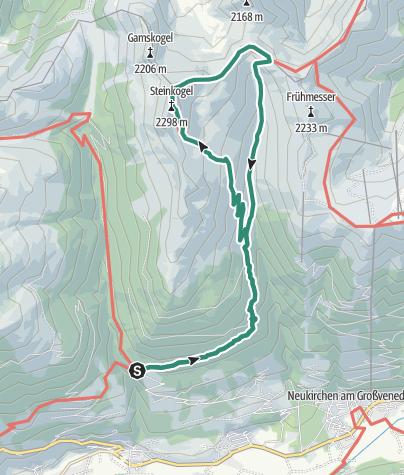 Map / Steineralm - Steinkogel 2.299 m