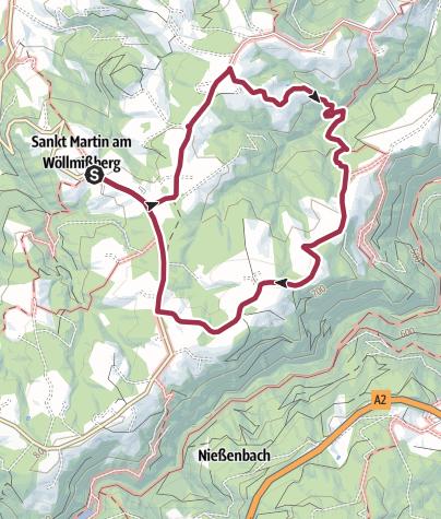 Map / Wöllmißberger Buschenschank-Gaudi