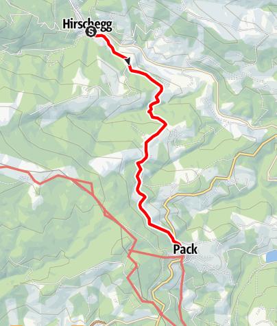 Karte / Auf den Spuren der Rucksackdörfer