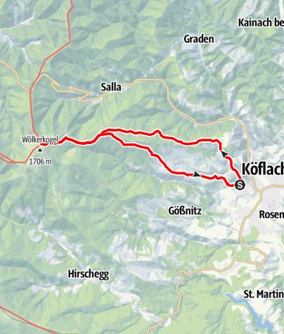 Karte / Almhausweg