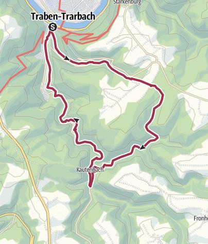Karte / T 2 - Wild romantische Drei-Täler-Tour