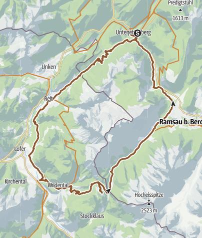 Karte / Rund um die Reiteralpe