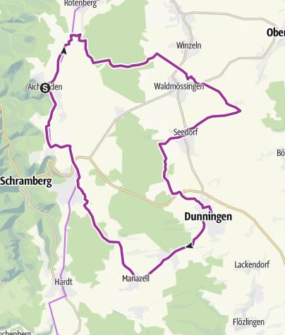 Karte / Aichhalden - Am Rande des Schwarzwalds