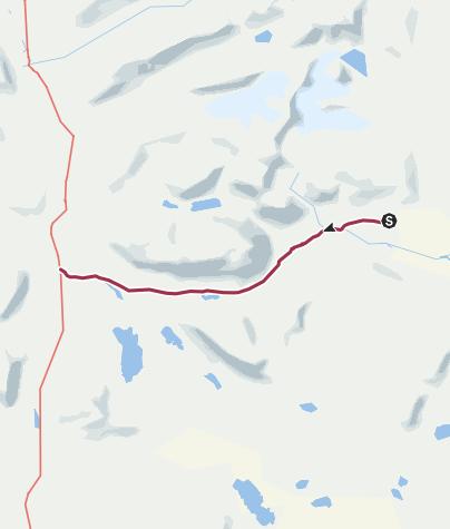 Map / Auf dem Kungsleden von Kebnekaise nach Singi