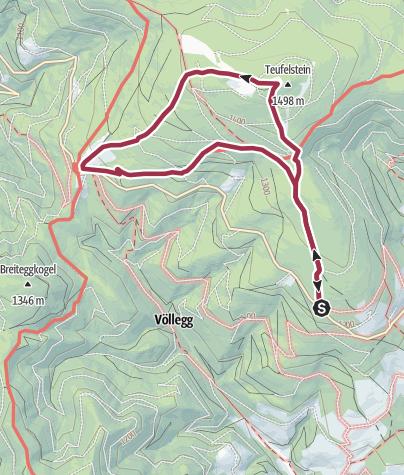 Karte / Teufelsteinrunde