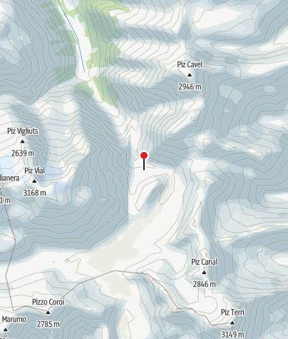 Karte / Terrihütte
