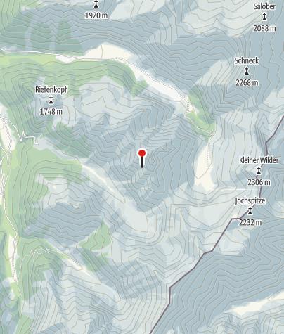 Map / Biwakschachtel an der Höfats