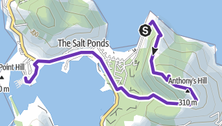 Map / St Kitts hike