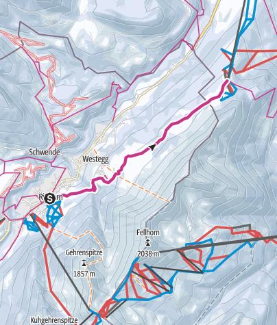 Map / High route Söllereck
