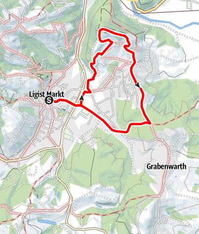 Karte / Keltenweg kurz
