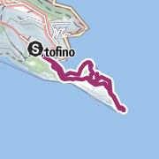 מפה / Über die Halbinsel von Portofino