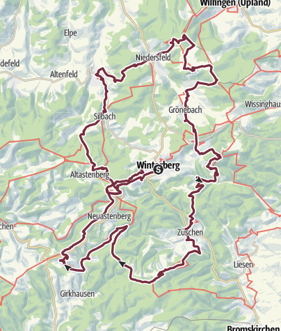Map / Winterberger Hochtour