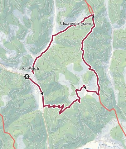 Karte / Veitsch, Holzer, Oswaldbauer Veitschegg