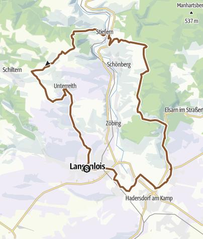 Karte / Zweigelt-Strecke
