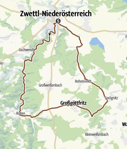 Karte / Hundertwasser-Tour