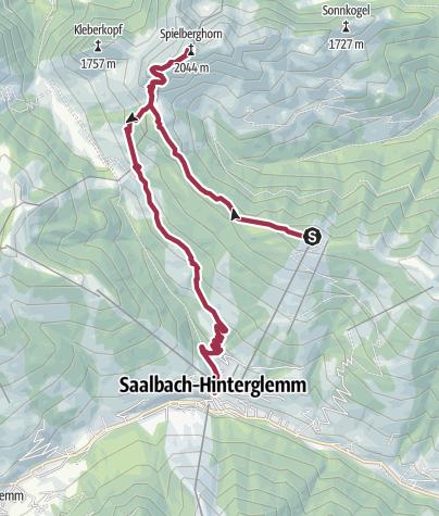 Map / Spielberghorn