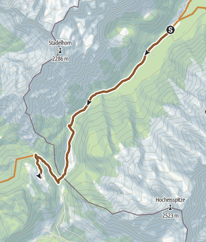 Karte / MTB: 01 - Litzlalm