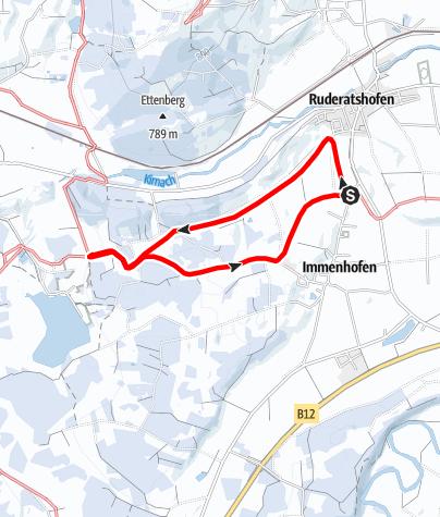 Karte / Bei Immenhofen