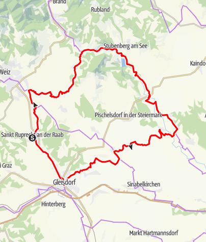 Karte / Käferbohnentour ins Apfelland
