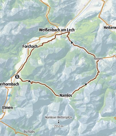 Map / namloser tal