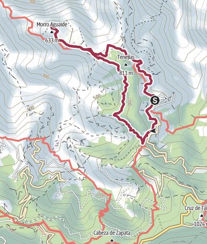 Karte / Auf alten Pfaden nach Chinamada