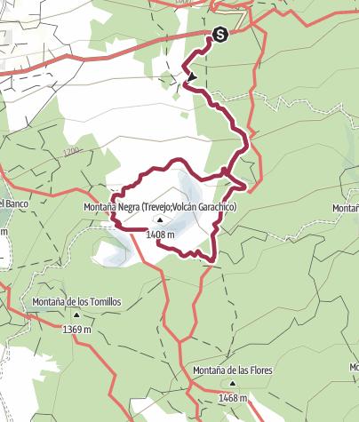 Karte / Um den Vulkan Garachico