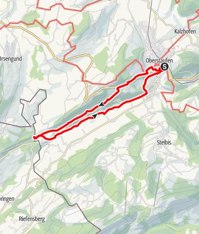 Karte / Von Oberstaufen zu den Eibelefällen - Westallgäuer Wasserweg 23