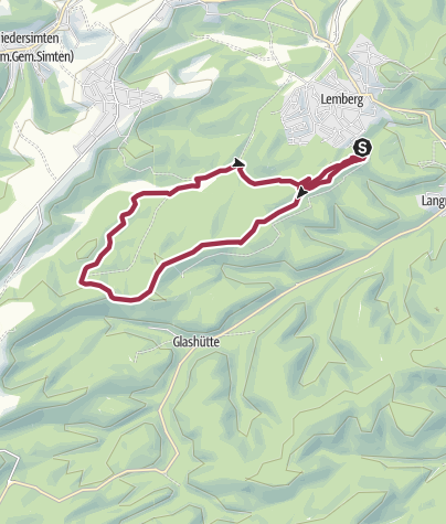 Karte / Rothenberg-Weg