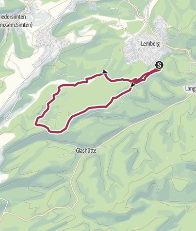 Map / Rothenberg-Weg