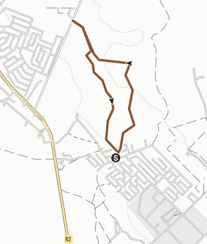 Map / RIDGEMONT STEEP TRAIL Route