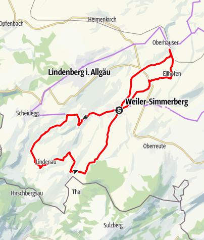 Karte / Rothachtal-Runde