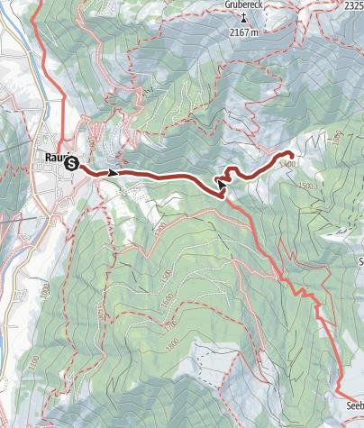 Map / Rauris: Blumenwanderweg Gaisbachtal Nr. 117