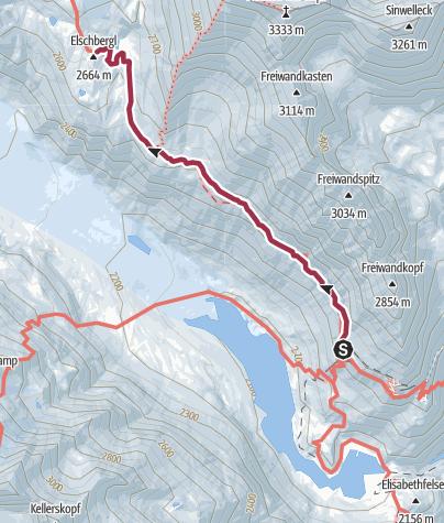 Térkép / Gramsgrubenweg
